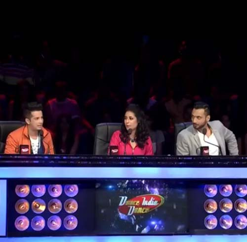 Punit Pathak as a judge on Dance India Dance 5