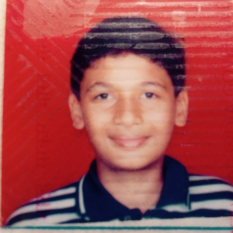 Punit Pathak in his childhood