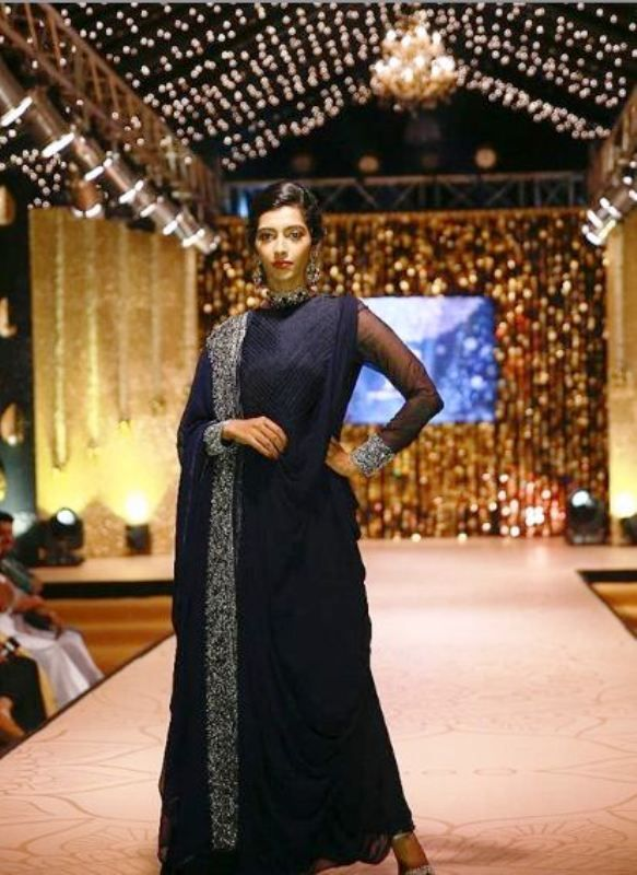 Reshma Rajan Walking the Ramp in an Event
