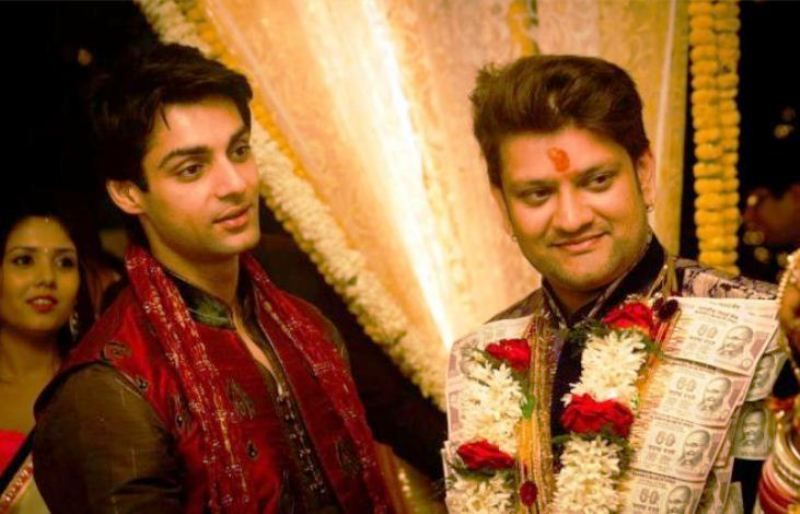 Rohit Nag with Karan Wahi
