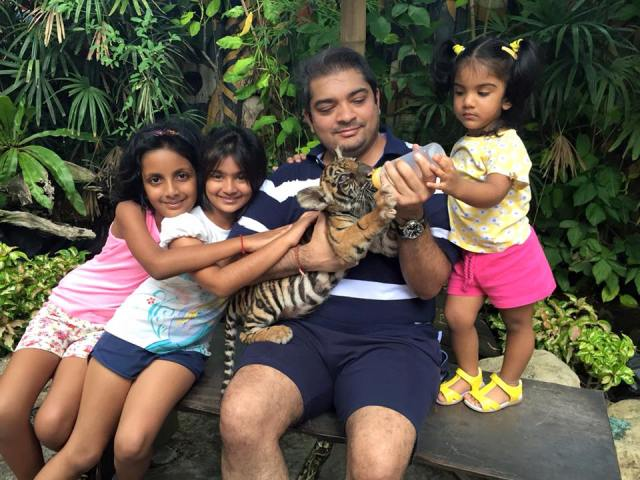 Shardul Singh Bayas loves animals
