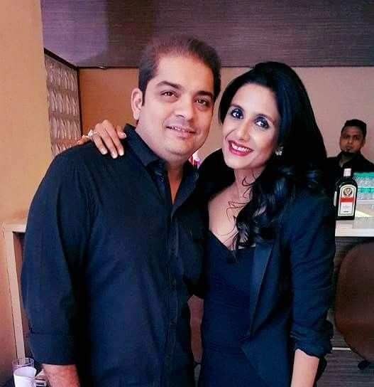 Shardul Singh Bayas with his ex-wife