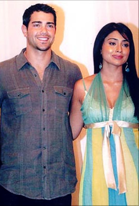 Shriya Saran with Jesse Metcalfe