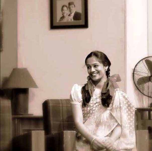 Spruha Joshi Performing in a Theatre Play