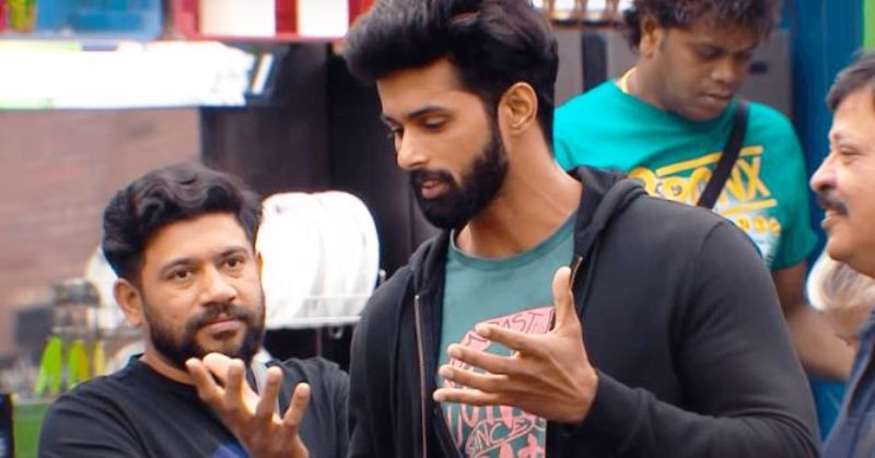 Sujo Mathew in Bigg Boss 2