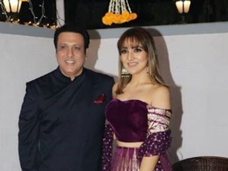 Tina Ahuja with her Father