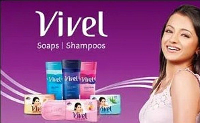 Trisha Krishnan advertising for Vivel
