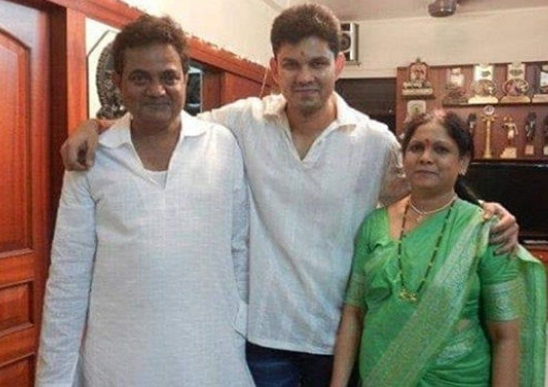Vijay Chavan with his Family