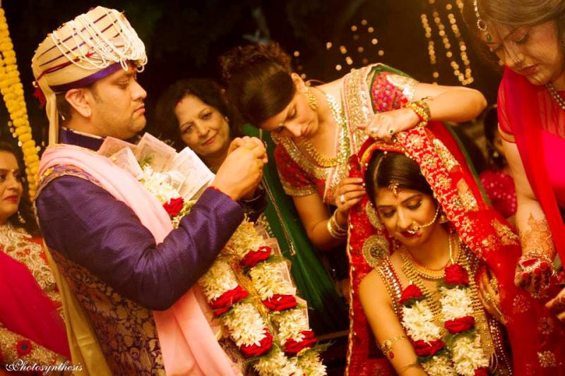 Wedding Picture of Aishwarya Sakhuja and Rohit Nag