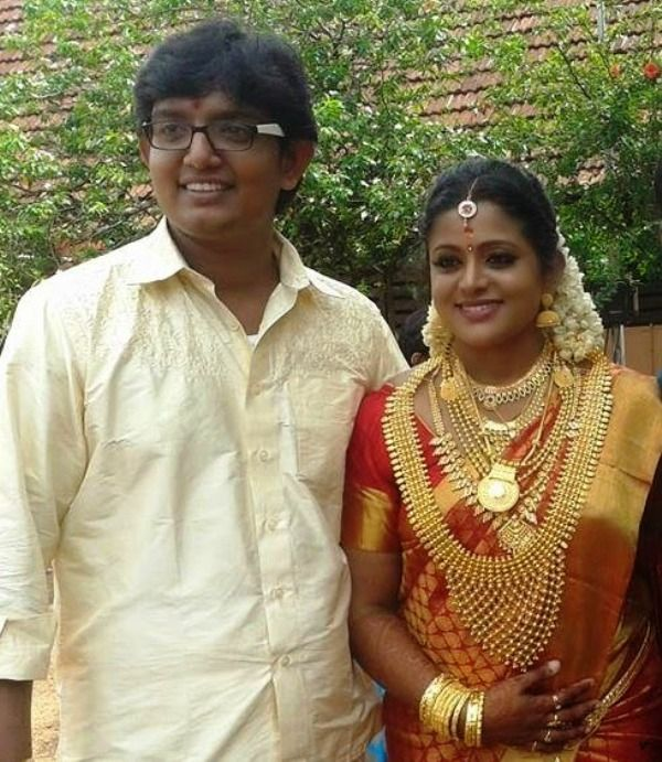 Wedding Picture of Veena Nair