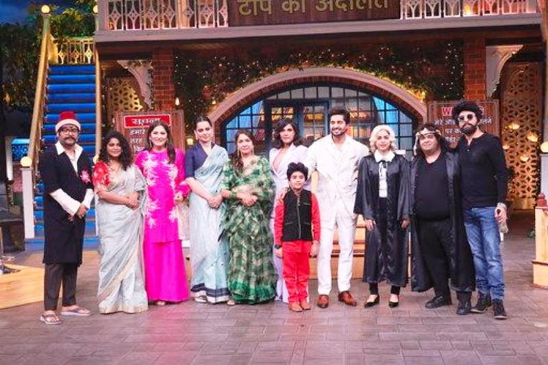 Yagya Bhasin in The Kapil Sharma Show