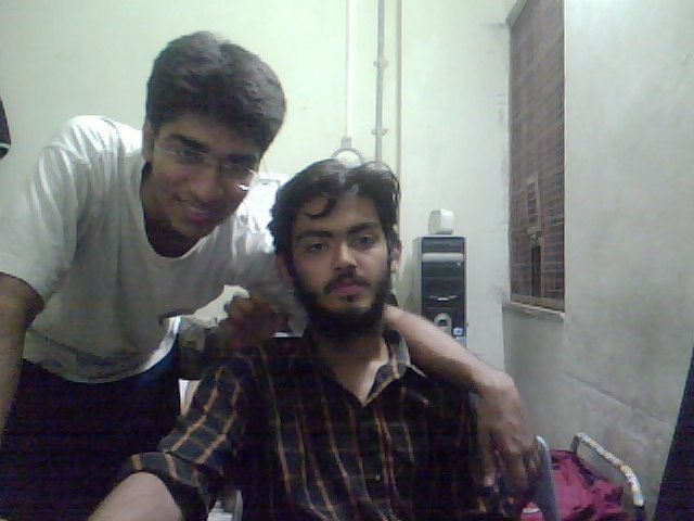 A 2007 picture of Sharjeel Imam at hostel room in IIT Bombay