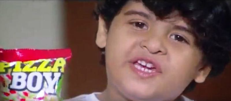Aayudh Bhanushali in a Snacks Advertisement