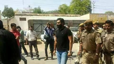 Anandpal Singh in Police Custody
