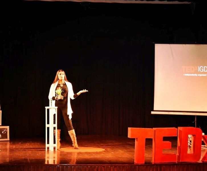 Anu Aggarwal in an Event of TEDx