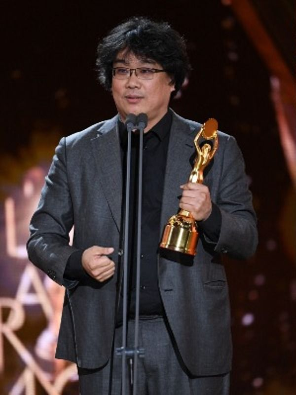 Bong Joon-ho during his Acceptance Speech at Blue Dragon Film Awards