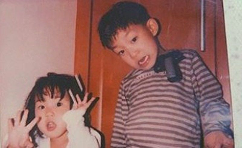 Childhood Picture of Song Kang-ho's Children