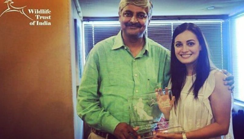 Dia Mirza being appointed as ambassador of Wildlife Trust of India (WTI)