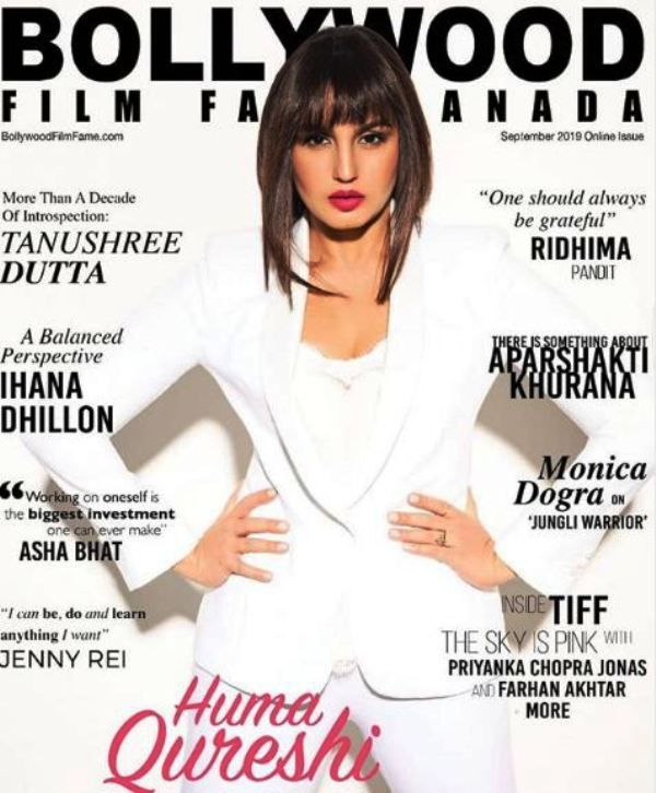 Huma Qureshi Featured on the Cover of a Magazine