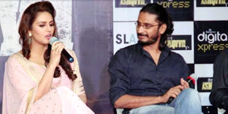 Huma Qureshi and Abhishek Chaubey