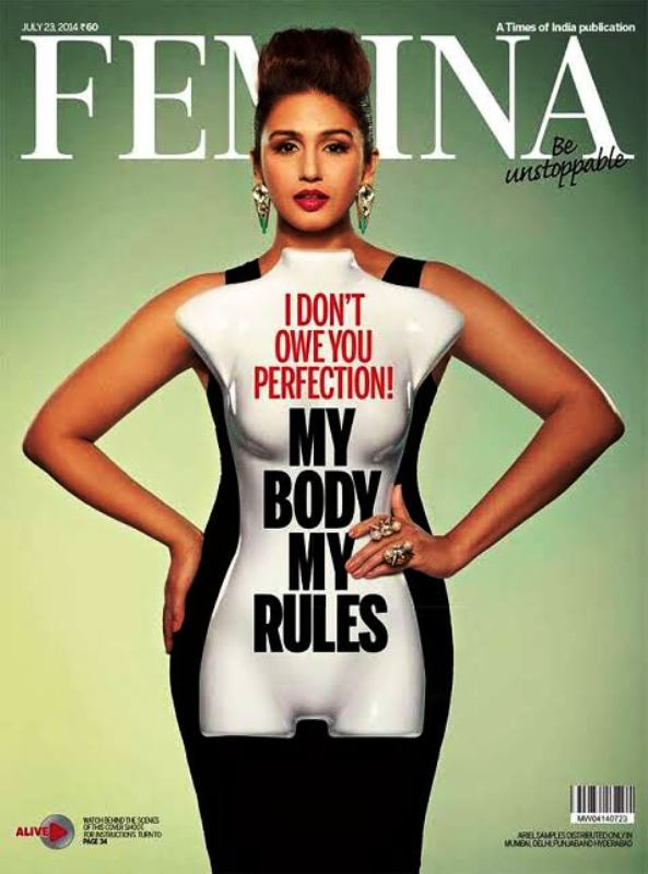 Huma Qureshi in Be Unstoppable Campaign
