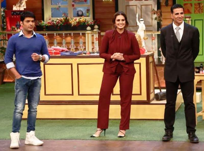 Huma Qureshi in The Kapil Sharma Show