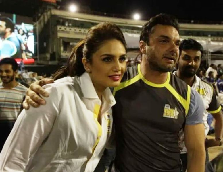 Huma Qureshi with Sohail Khan