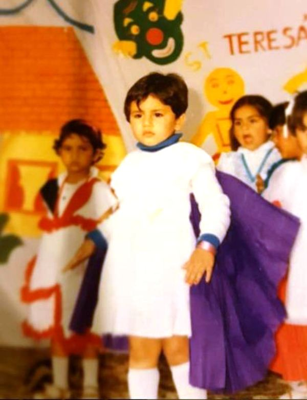Huma Qureshi's Childhood Picture
