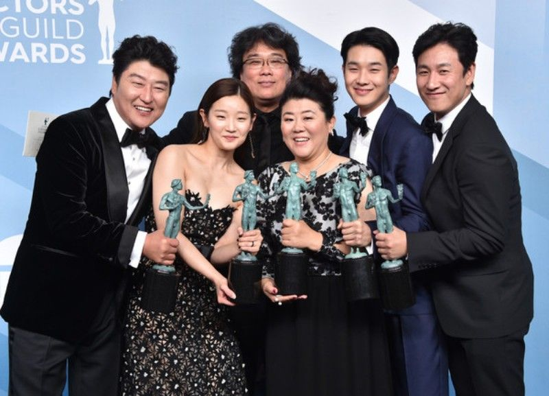 Lee Sun-kyun at Screen Actors Guild Award