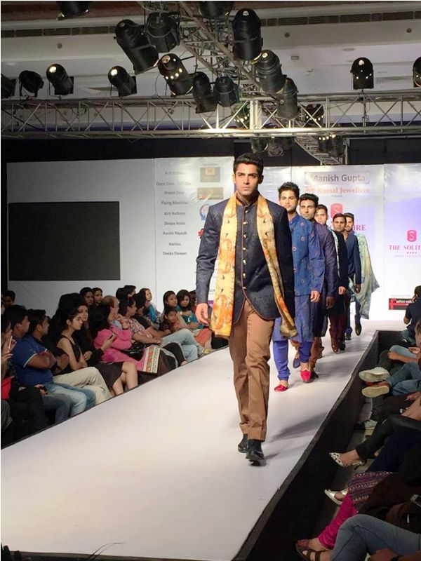 Mohit Kumar Walking the Ramp