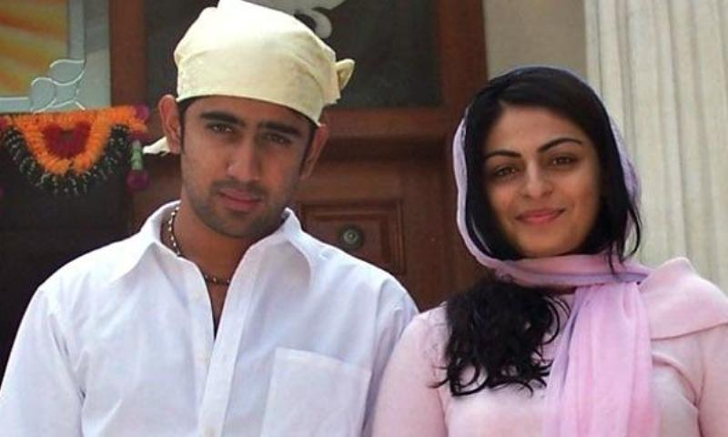 Neeru Bajwa with Amit Sadh