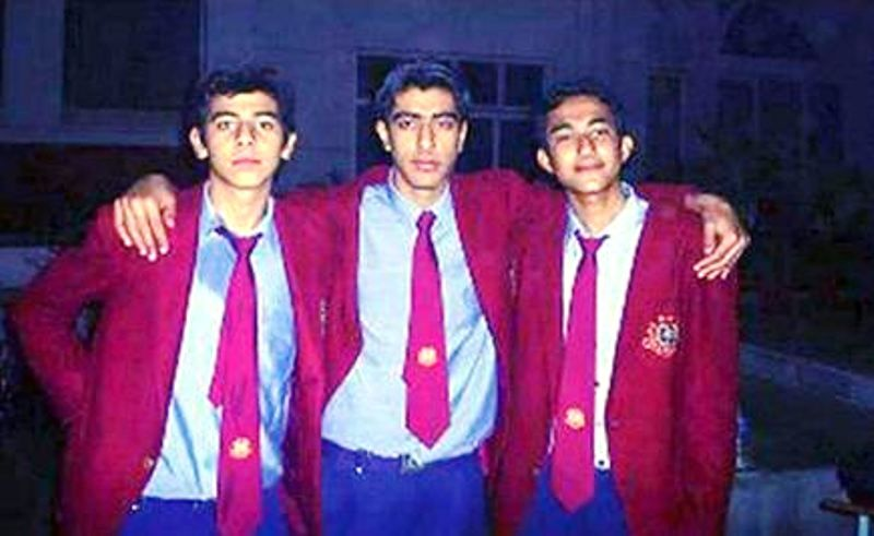 Pavail Gulati With His School Friends