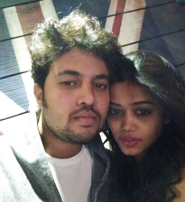 Prasad Jawade with His Girlfriend