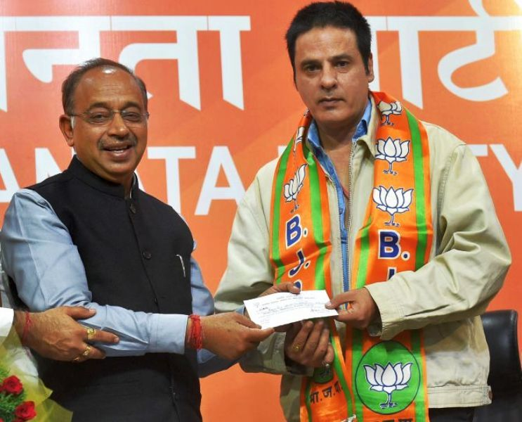 Rahul Roy Joining the BJP