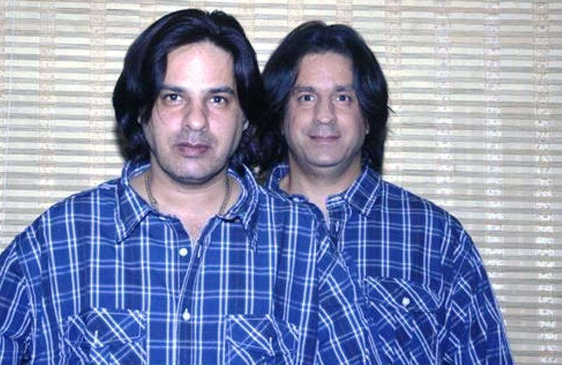 Rahul Roy with His Brother