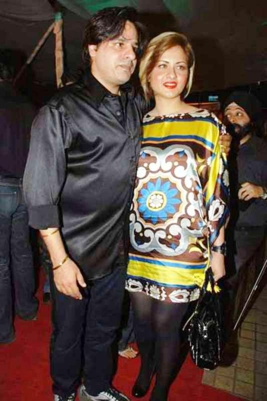 Rahul Roy with Rajlaxmi Khanvilkar