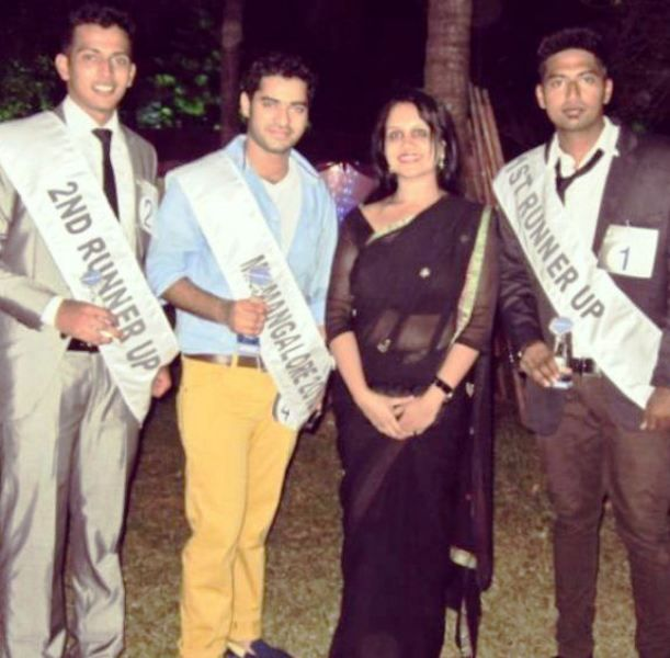 Shine Shetty After Winning Mr Mangalore Title