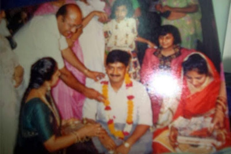Wedding Photograph of Sunita Kejriwal and Arvind Kejriwal
