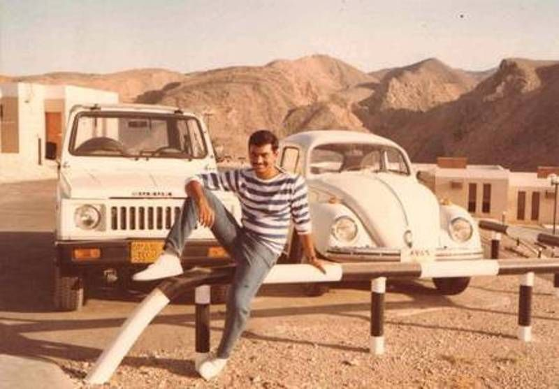 Wendell Rodricks in Oman