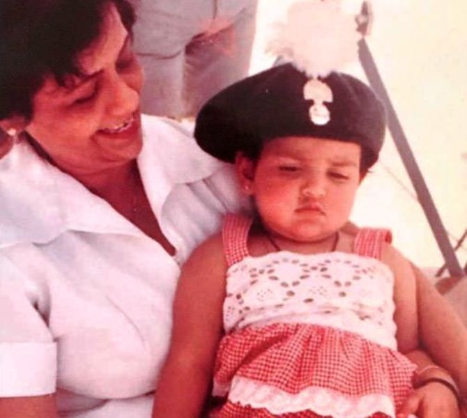 A Childhood Picture of Esha Deol