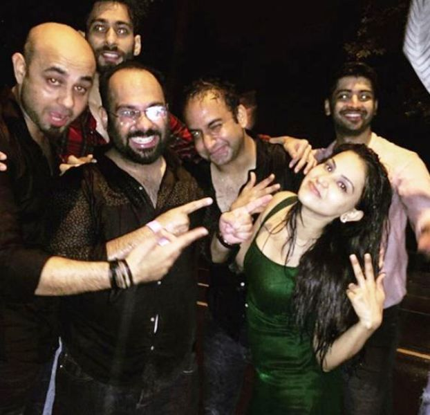 Aanchal Khurana Partying With Her Friends