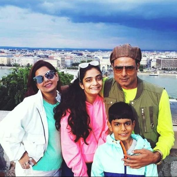 Abhimanyu Singh With His Family