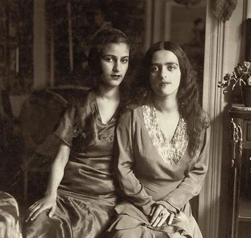Amrita Sher-Gil with her Sister