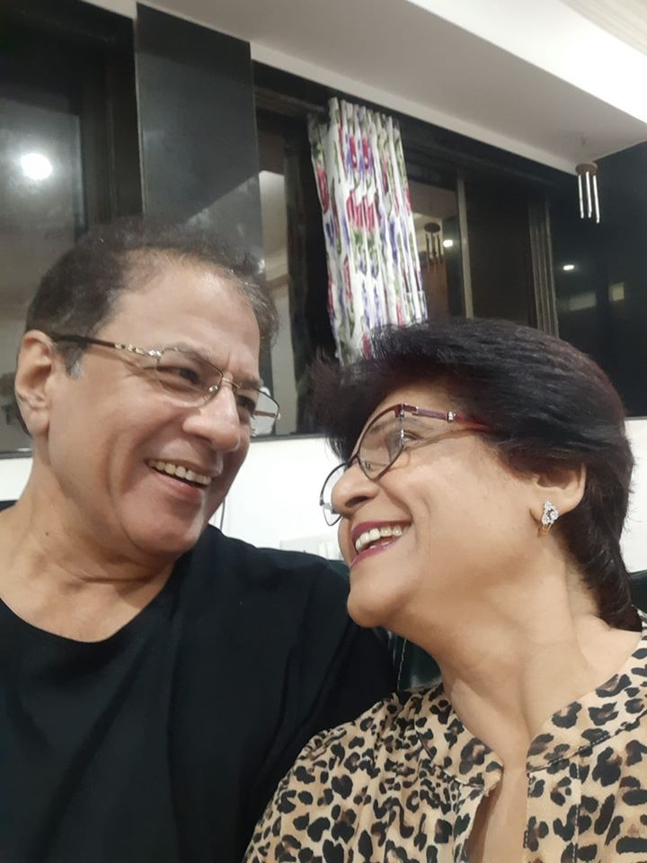 Arun Govil with Wife Shrilekha
