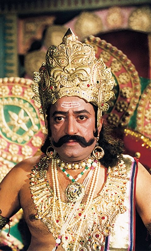 Arvind Trivedi in a still from Ramayan