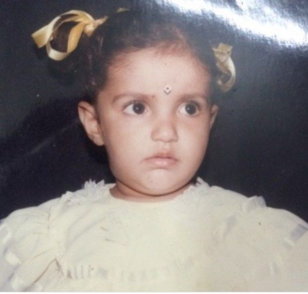 Childhood Picture of Rupali Jagga