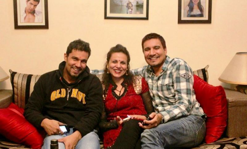 Dr. Anjali Hooda Sangwan With Her Brothers