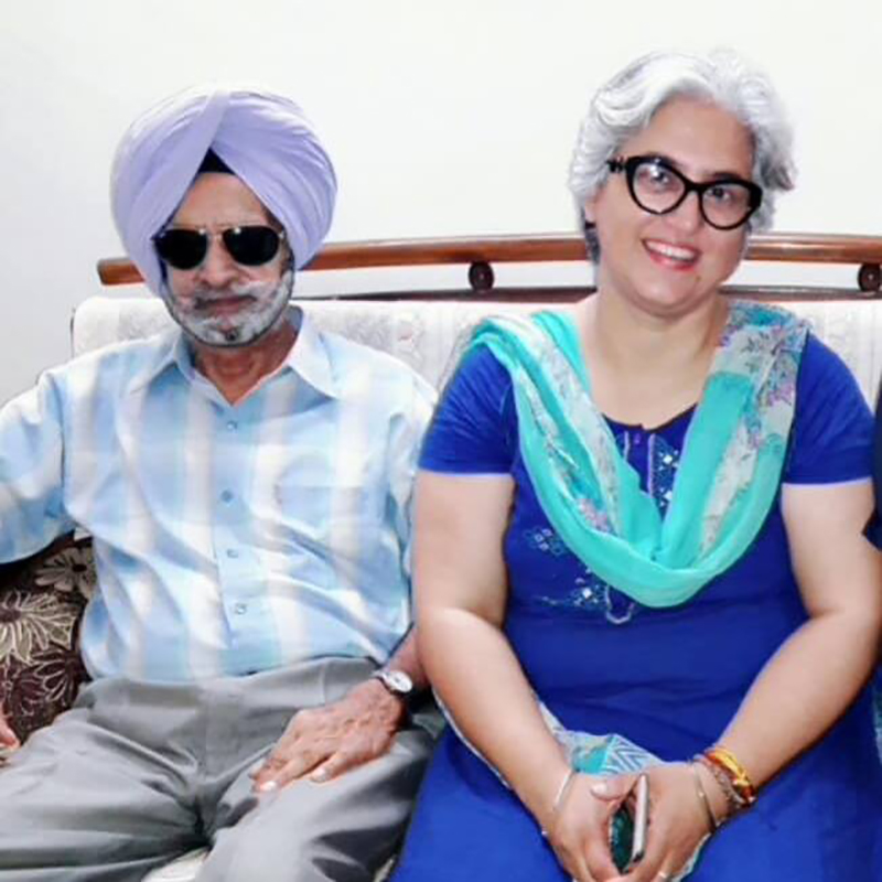 Gurfateh Singh Pirzada's Parents