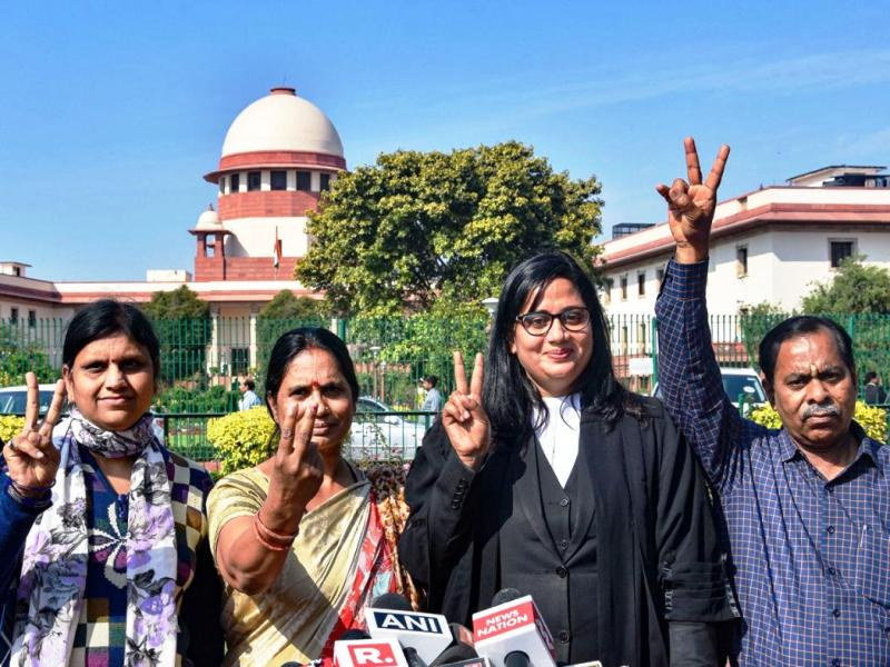 Justice served to Nirbhaya after 7 years of battle