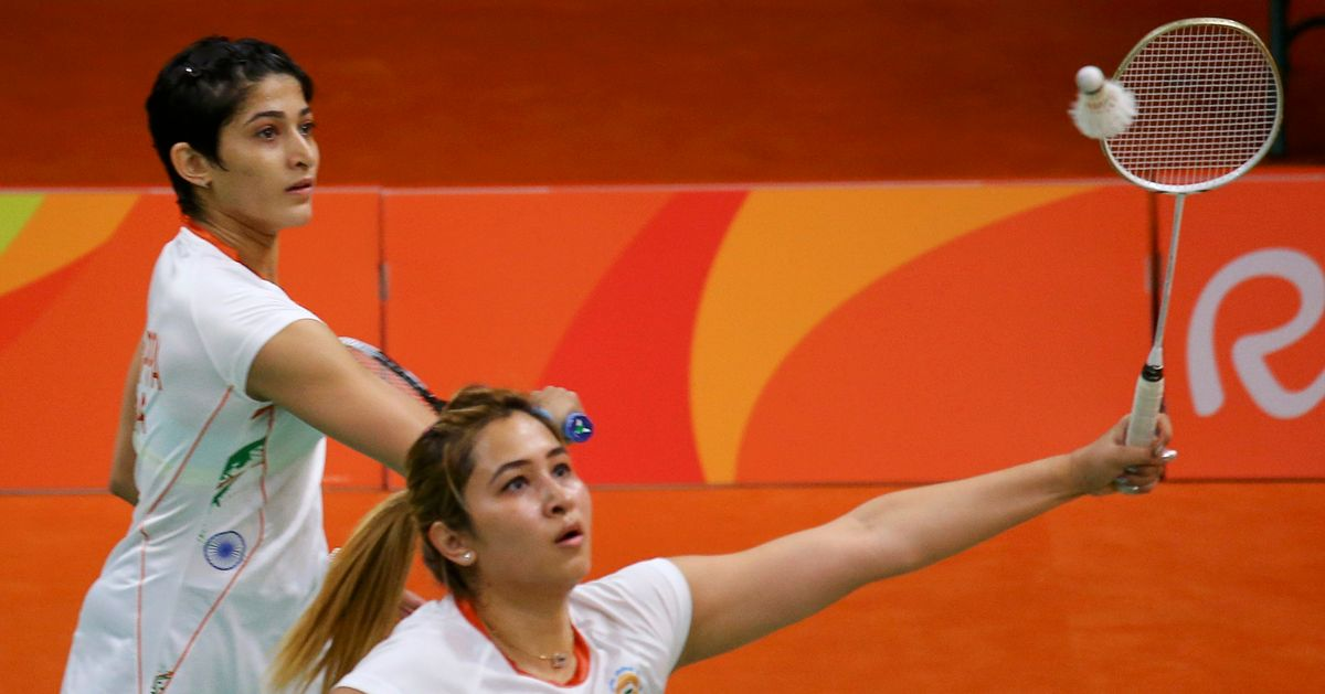 Jwala Gutta paired with Shruti Kurien